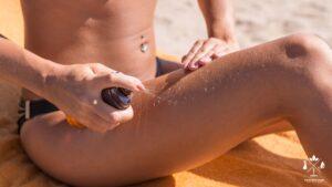 Petele de ulei de plaja